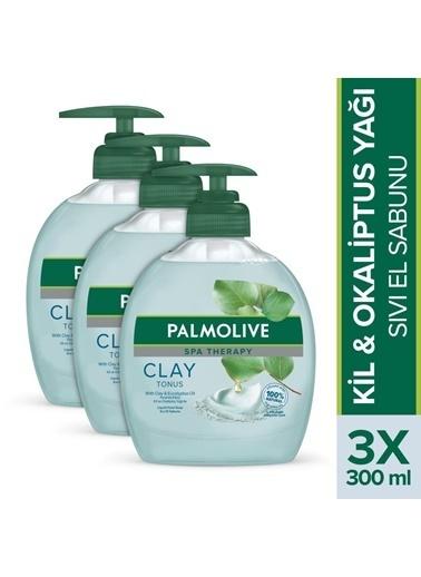Palmolive Spa Therapy Clay Tonus Kil Ve Okaliptus Yağı Sıvı El Sabunu 3 X 300 Ml Renksiz